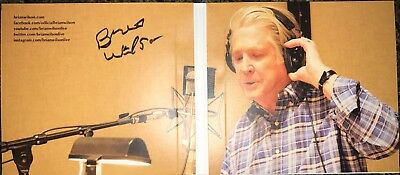 Beach Boys GREAT NEW SIGNED 2017 ' PLAYBACK THE BRIAN WILSON ANTHOLOGY ' CD!