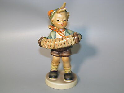 alte Goebel Figur Hummel  W.Germany 88 185 BK 83  Akkordeon Junge ACCORDION BOY