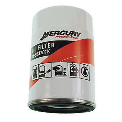 Mercury Marine Mercruiser New OEM Outboard Motor Oil Filter Verado, 35-883701K01