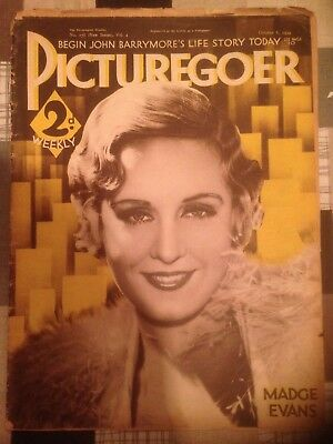 Picturegoer Magazine October 6 1934 Madge Evans