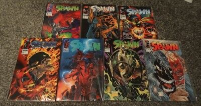Spawn Comics - Issues 1 to 40, Todd McFarlane (first appearance of Angela)