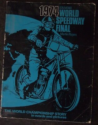 World Speedway Final 1974: World Championship Story in Words and Pictures Paperb