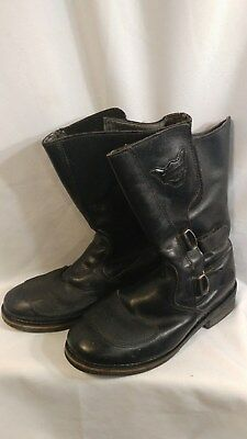 Harley-Davidson Leather Motorcyle Riding Boot Stock No.95150 Men's Size 12