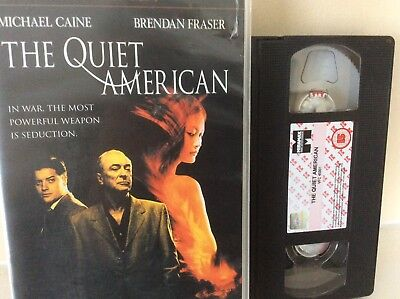 The Quiet American (VHS/SUR, 2003) ex rental copy in large clam shell case