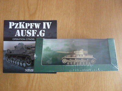 Unopened 1:72 Atlas Editions Ultimate Tank Collection Pz Kpfw Iv Ausf G
