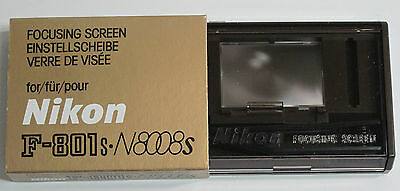Nikon Focusing Screen E for F801 N8008 and N8008s - New in Box