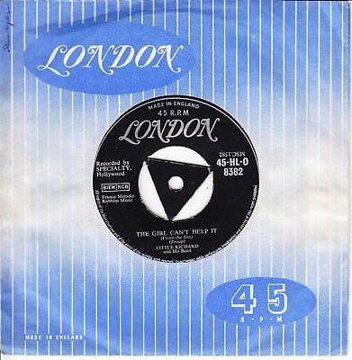 Little Richard 1957 Tri Uk Silver London *the Girl Can't Help It/ She's Got It*