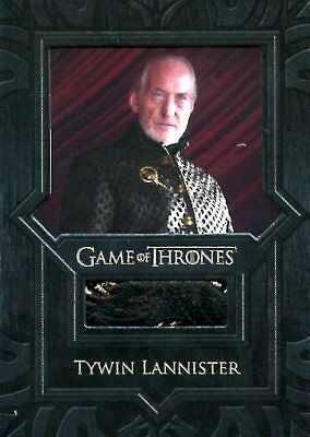 Game Of Thrones Valyrian Steel RELIC card VR5 TYWIN LANNISTER JACKET