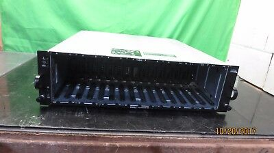 Dell PowerVault MD3000 Array w/ 2x Controller AMP01 (rack mount bent) ~