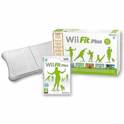 Nintendo Wii Balance Board Blanche + Wii Fit Plus Neuf Scelle Collector A Saisir
