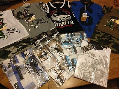 Boys Clothing Bundle Age 3-4 Years, Total 13 Brand New Items CHECK OUT PICTURES