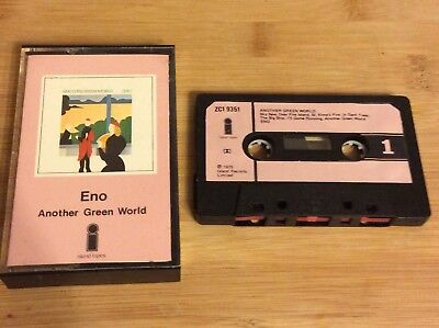 ENO another green world ISLAND PINK TAPE 1975