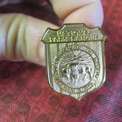 OBSOLETE National Park Ranger Badge Pin- US Dept of the Interior- March 3, 1849
