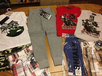 Boys Clothing Bundle Age 5-6 Years, Total 8 Brand New Items CHECK OUT PICTURES