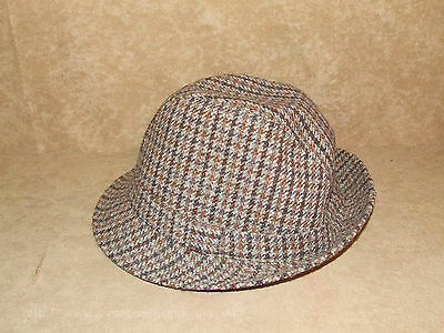 Mens Vintage Trilby Style All Wool Hat - Made In Britain - Henry Griffiths & Son