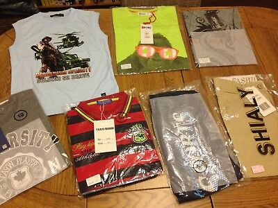 Boys Clothing Bundle Age 9-10 Years, Total 8 Brand New Items CHECK OUT PICTURES