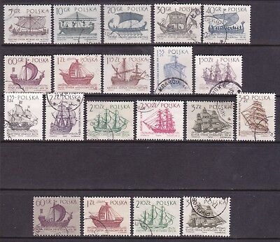 Poland 1964 Sailing Ships Full Set