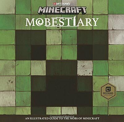 Minecraft Mobestiary An official Minecraft book f by Mojang AB Hardback Book New