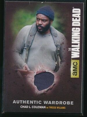 2016 The Walking Dead Season Four Part 1 Memorabilia #M7 Chad L. Coleman