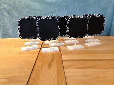 Chalkboard Table Number Signs