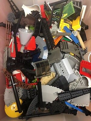 Bulk Lot of Legos 3 Pounds Bricks Blocks Plates Parts and Pieces.  Unsorted lot.