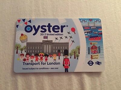 Limited edition 2012 London Olympics Oyster travel card not for travel