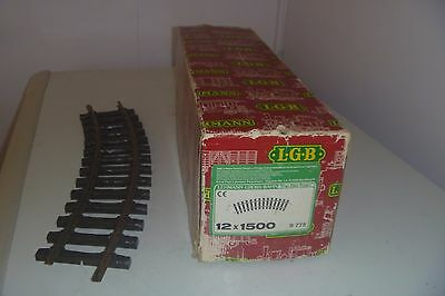 G gauge lgb 1500    R=775 curved track   13 pieces