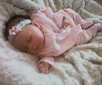 BEAUTIFUL SOFIA Reborn Baby Girl With ROOTED HAIR