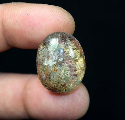 41.00 Cts. 100% Natural Lodolite Garden Quartz Oval Cabochon Loose Gemstones