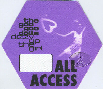 GOO GOO DOLLS 1999 Dizzy Up The Girl Backstage Pass