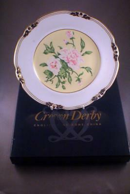 """Royal Crown Derby Limited Edition """"flowers For An Indian Prince"""" Plate - Perfect"""