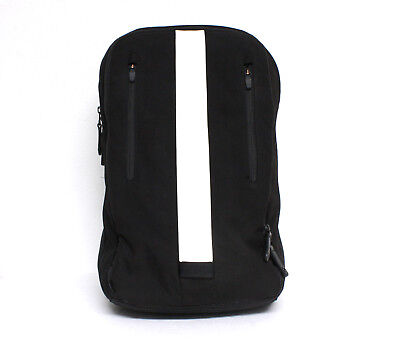"""Rapha Backpack Cycling Commuter 15"""" Padded Laptop Sleeve Black White Reflective"""
