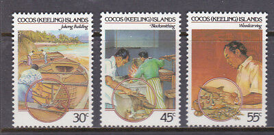 Cocos Keeling Islands 1985 Cocos - Malay Culture Set UM Cat £1.85