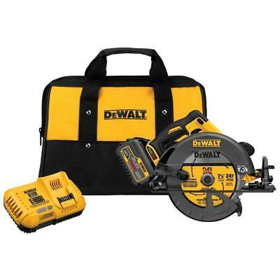 DeWalt DCS575T1 FlexVolt 60V MAX Brushless Circular Saw with Brake & Battery