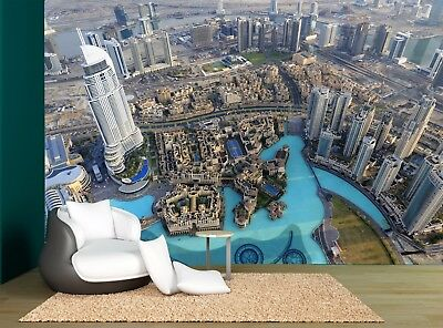 Skyline City Buildings Dubai Wall Mural Photo Wallpaper GIANT WALL DECOR