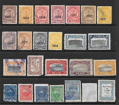 Paraguay. 1908-1927. Used Group.