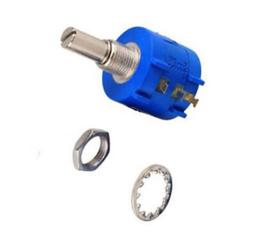 New 3590S Rotary Wirewound Precision Potentiometer 10 Turn Ohm Variable Resistor