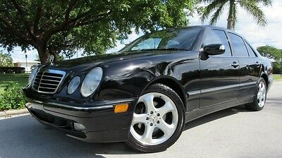 2002 Mercedes-Benz E-Class 4d 2002 MERCEDES E320, X-CLEAN, SUNROOF, CD, LEATHER, LOW MILEAGE FLORIDA CAR, NICE
