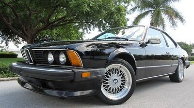 1986 BMW 6-Series 2Dr 1986 BMW 635 CSI, SUCH A RARE FIND, ALL POWER, SUNROOF, IN AWESOME CONDITION!