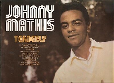 JOHNNY MATHIS- 4 X 1960s +  LPs VG+ to EX