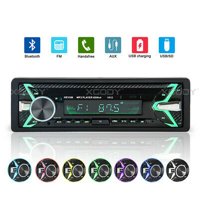 Car 2 DIN 7'' HD Bluetooth Touch Screen Stereo Radio MP5 MP3 USB AUX TF Player