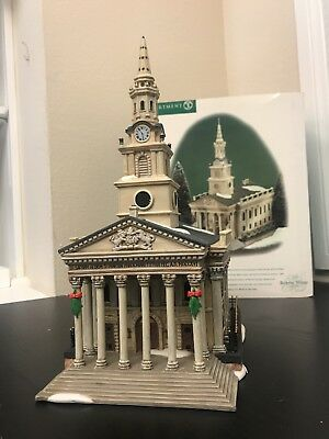 Department 56 Porcelain ~ St Martin-In -The-Fields Church~ Dickens Village