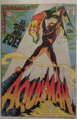 Aquaman #42 (Nov-Dec 1968, DC) 2nd Manta, VG/Fine