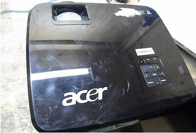 Acer X1230PS Projector - Black - VGA S-Video RCA - Lamp Needs replacement |
