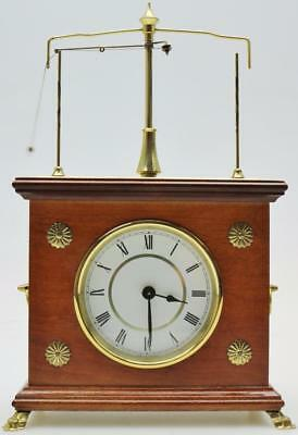 "Beautiful Vintage German ""The Horolovar Flying Pendulum"" Mystery Mantle Clock"