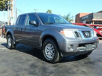 2016 Nissan Frontier SV Crew Cab 2016 Nissan Frontier SV Crew Cab Wrecked Salvage Repairable Perfect Project L@@K