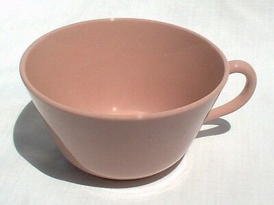 Buffalo China Pink Rouge Ware Coffee Cup