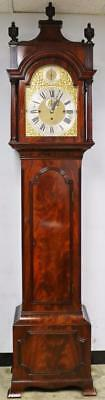 Antique Mahogany Winterhalder Musical 9 Tubular Bell Regulator Longcase Clock