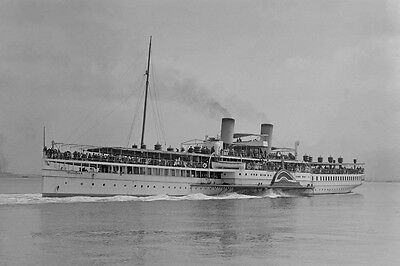 WEEROONA of BAY STEAMERS, Melbourne digital Photo Postcard Modern