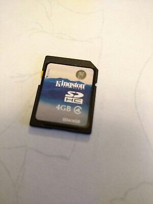 kingston sdhc 4gb